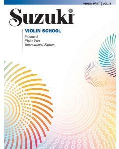 SUZUKI VIOLIN SCHOOL VOL 5 INT BK ASIAN ED