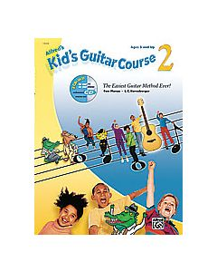 ***ALFRED KID'S GUITAR COURSE BK2 W/CD