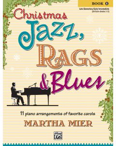 CHRISTMAS JAZZ RAGS & BLUES BK1