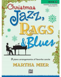 CHRISTMAS JAZZ RAGS & BLUES BK3
