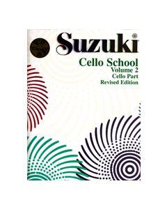 ***SUZUKI CELLO SCHOOL & CD VOL2 26206