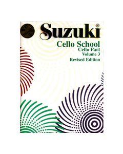 ***SUZUKI CELLO SCHOOL & CD VOL3 26207