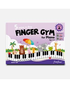 5 MINS A DAY FINGER GYM FOR PIANO LEVEL A