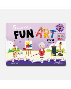 5 MINS A DAY FUN ART GYM FOR PIANO LEVEL A
