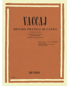 VACCAI PRACTICAL VOCAL METHOD - LOW VOICE W/CD