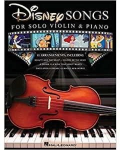 DISNEY SONGS FOR SOLO VIOLIN AND PIANO