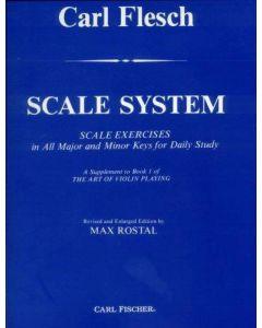 CARL FLESCH VIOLIN SCALE SYSTEM