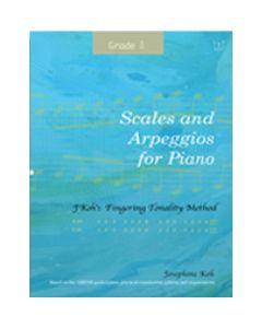SCALES & ARPEGGIOS FOR PIANO GRADE 8 JOSEPHINE KOH