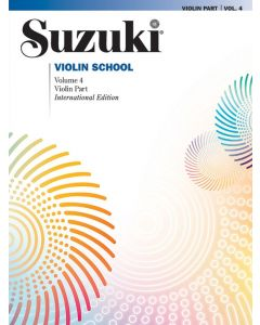 SUZUKI VIOLIN SCHOOL VOL 4 INT BK ASIAN ED