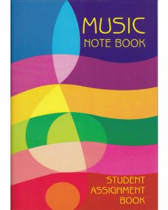 STUDENT MUSIC NOTEBOOK MZO9001