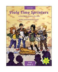 VIOLA TIME SPRINTERS BK3 W/CD