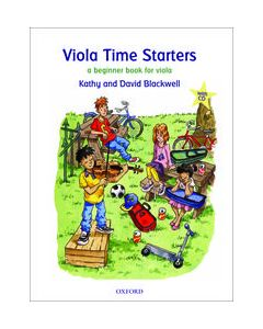 VIOLA TIME STARTES W/CD (NEW EDITION)