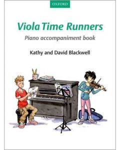 VIOLA TIME RUNNERS PIANO ACCOMPANIMENT BOOK