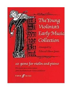 YOUNG VIOLINIST EARLY MUSIC HUWS JONES