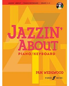 JAZZIN ABOUT PIANO WEDGWOOD G3-5 W/CD