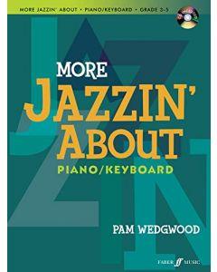 MORE JAZZIN ABOUT FUN PCS PIANO BK&CD