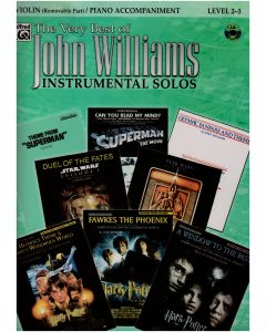 THE VERY BEST OF JOHN WILLIAMS FOR VIO W/CD