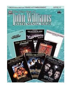 THE VERY BEST OF JOHN WILLIAMS FOR CEL W/CD