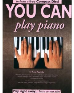 YOU CAN PLAY PIANO W/CD