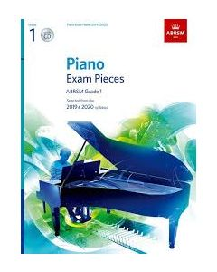 ***PIANO EXAM PCS 2019-2020 G1 W/CD