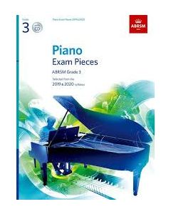 ***PIANO EXAM PCS 2019-2020 G3 W/CD