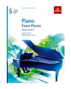 ***PIANO EXAM PCS 2019-2020 G5 W/CD