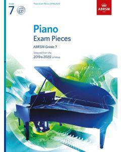 ***PIANO EXAM PCS 2019-2020 G7 W/CD
