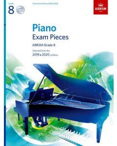 ***PIANO EXAM PCS 2019-2020 G8 W/CD