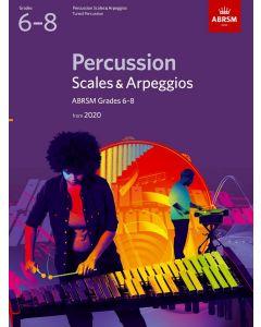 PERCUSSION SCALES AND ARPEGGIOS G6-8