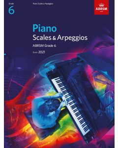 PIANO SCALES & ARPEGGIOS, ABRSM GD 6
