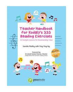 TEACHER HANDBOOK FOR KODALY 333 READING EXERCISES