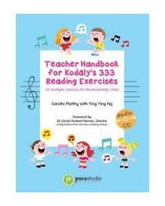 POCO TEACHER HANDBOOK KODALY 333 READING EX W/CD