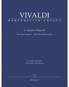 VIVALDI FOUR SEASONS VLN/PF