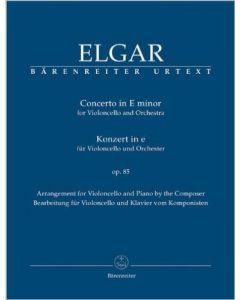 ELGAR CONCERTO IN E MINOR VIO/CEL & ORC