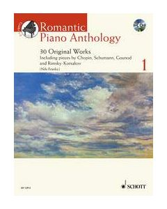 ROMANTIC PIANO ANTHOLOGY BK1 W/CD
