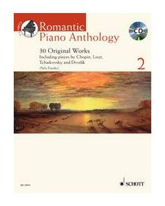 ROMANTIC PIANO ANTHOLOGY BK2 W/CD