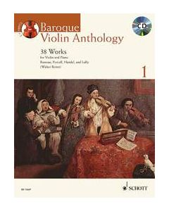 BAROQUE VIOLIN ANTHOLOGY BK1