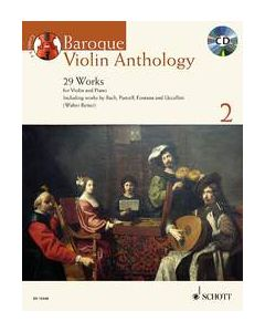 BAROQUE VIOLIN ANTHOLOGY BK2