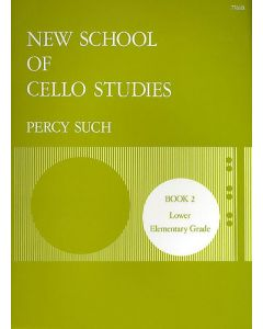 SUCH NEW SCHOOL OF CELLO STUDIES BK 2