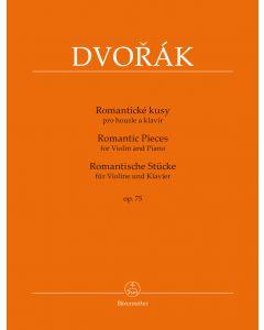DVORAK ROMANTIC PCS OP75 VLN/PF