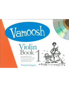 VAMOOSH VIOLIN BK1 W/CD