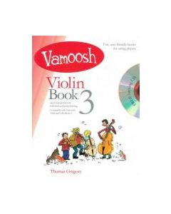 VAMOOSH VIOLIN BK 3 W/CD