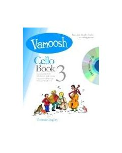 VAMOOSH CELLO BK 3 W/CD