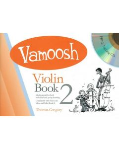 VAMOOSH VIOLIN BK 2 W/CD