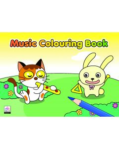 MUSIC COLOURING BOOK 1: YELLOW