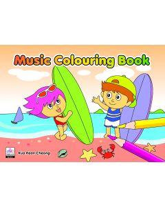 MUSIC COLOURING BK2 (ORANGE BOOK)