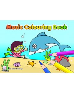 MUSIC COLOURING BOOK 3: BLUE