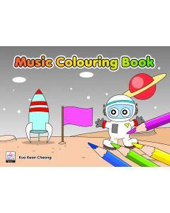 MUSIC COLOURING BK4 (BLACK BOOK)