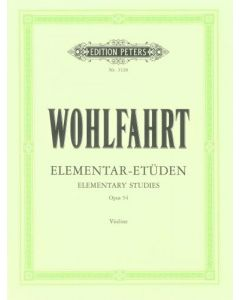 WOHLFAHRT VLN OP54 40 ELEMTARY STUDIES