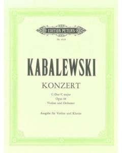 KABALEVSKY VIO CONC C MAJ OP48